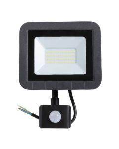 Naświetlacz LED Halogen Slim z czujnikiem 50W IP65 4000K Neutralna Ecolight