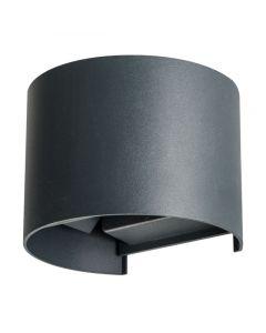 Oprawa Lampa Elewacyjna LED REKA Grafitowa GÓRA I DÓŁ 7W 380lm 4000K Neutralna IP54 Kanlux