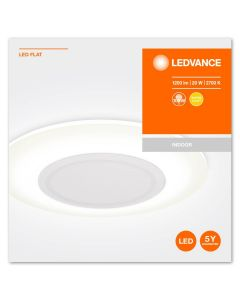Lampa Sufitowa LED Plafon 20W 2700K WW SLIM DESIGN FLAT 38cm LEDVANCE