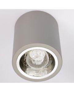 Oprawa sufitowa natynkowa tuba metalowa spot JUPITER 13 typu DOWNLIGHT E27 szara