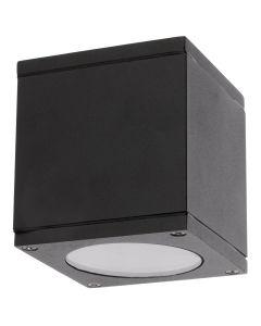 Lampa Sufitowa SPOT LED  QUAZAR 17 GU10 IP44 KOBI ALUMINIUM Kwadratowa Czarna