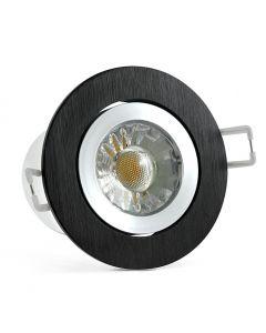 Oprawa podtynkowa ruchoma okrągła LED POLUX STAR OLAL 5,5W 470lm 5000K