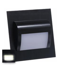 Oprawa schodowa DECORUS Lampka LED 1,2W Czarna ProVero Neutralna 4000K 12V DC