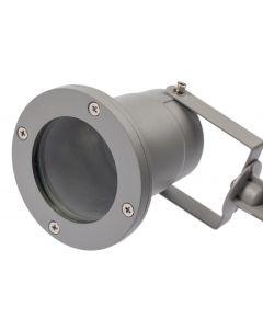 Lampa Ogrodowa LED Diego GU10 IP65 WODOODPORNA GTV SZARA
