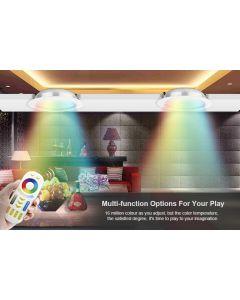 Sufitowa OPRAWA LED okrągła DOWNLIGHT 12W RGB+CCT Mi-Light - FUT066