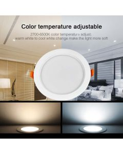 Sufitowa OPRAWA LED okrągła DOWNLIGHT 15W RGB+CCT Mi-Light - FUT069