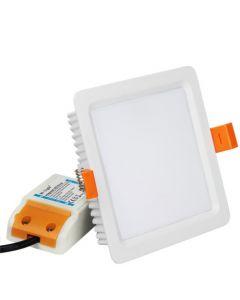 Sufitowa OPRAWA LED kwadrat DOWNLIGHT 9W RGB+CCT Mi-Light - FUT064