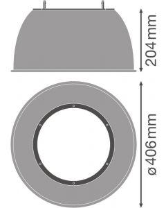 Odbłyśnik osłona do oprawy High Bay DALI Reflector 90W 80st LEDVANCE