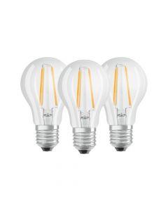 Zestaw 6x  Żarówka LED E27 7W = 60W 806lm OSRAM Ciepła 2700K