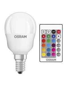 Żarówka LED KULKA E14 4.5W = 25W 250lm OSRAM RGBW + PILOT