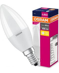 Żarówka LED ŚWIECZKA E14 7W = 60W 806lm 2700K OSRAM VALUE