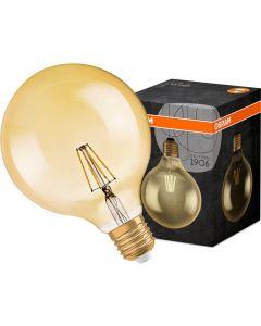 Żarówka LED E27 GLOBE 7W  = 55W 725lm G125 2500K OSRAM VINTAGE 1906