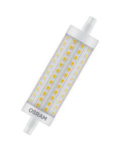 Żarnik LED R7S 15W = 125W 2000lm 2700K Ciepła 300° 118mm OSRAM Ściemnialny