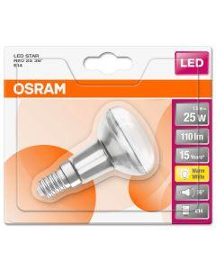 Żarówka LED E14 R50 1,5W = 25W 110lm 2700K Ciepła 36° OSRAM Star