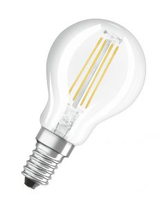 Żarówka LED E14 P45 6,5W = 60W 806lm 2700K Ciepła 300° Filament OSRAM Parathom
