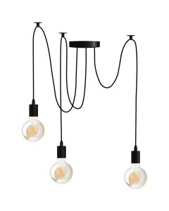 Lampa wisząca sufitowa ARANE PAJĄK 3 ramiona do LED 3x E27 LUMILED