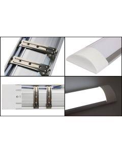 Lampa LED Panel Oprawa Natynkowa Belka 30cm 10W 6000W Zimna Barwa