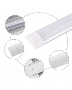 Lampa LED Oprawa Liniowa Listwa Garażowa 50W 3000K Ciepła 150cm