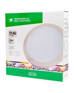 Plafon LED Lampa Sufitowa 16W = 97W 1140lm 4000K Neutralna IP44 Wonderful