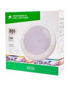 Plafon LED Lampa Sufitowa 12W = 81W 855lm 4000K Neutralna IP44 Wonderful