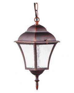 Lampa Ogrodowa Wisząca Zewnętrzna PARIS2 E27 Wiśnia - Polux