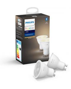 2PAK Żarówka LED GU10 5,2W Philips HUE White Bluetooth Zigbee 8718699629311