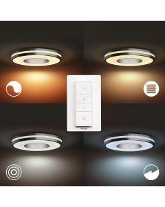 Philips HUE Being Ceiling Lampa sufitowa Srebrna 1x27W ZigBee + Bluetooth 32610/48/P6