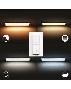 Philips HUE Aurelle Prostokątne oświetlenie panelowe 55W ZigBee + Bluetooth 32163/31/P6