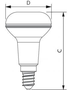 Żarówka LED Reflektor PHILIPS E14 2,8W = 40W 2700K 210lm Ciepła 36°