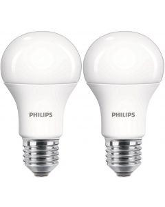2PAK Żarówka LED E27 A60 12,5W = 100W 1521lm 4000K Neutralna 200° PHILIPS
