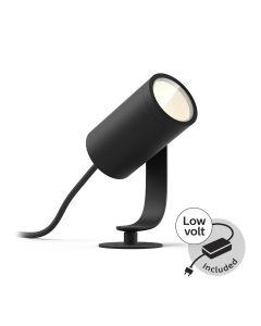 Philips HUE LILY Reflektor ogrodowy spot 8W 17428/30/P7 8718696169087