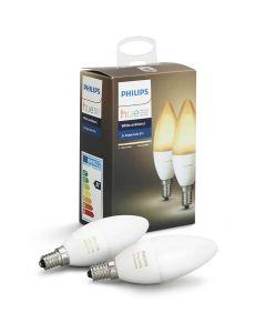2PAK Żarówka LED E14 B35 6W PHILIPS HUE White Ambience 8718696695265