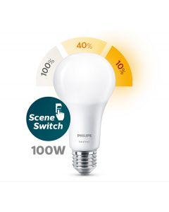 Żarówka LED E27 A67 14-7-3,5W = 100W 1521lm 200° PHILIPS SceneSwitch  3in1