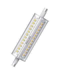 Żarnik LED R7S 14W = 100W 1800lm 4000K Neutralna 300° 118mm PHILIPS Ściemnialny