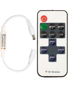 Ściemniacz LED radiowy 72W 12V + PILOT RF 5V~24V DC