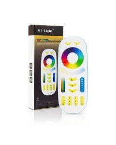 Pilot LED RGB+CCT radiowy 4 STREFY DOTYK Wi-Fi Mi-Light - FUT092