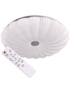 Plafon LED oprawa lampa Sufitowa FLOWER 36W 3060lm Polux + pilot 3000K-6500K