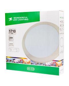 Plafon LED Lampa Sufitowa 24W = 115W 1710lm 4000K Neutralna IP44 Wonderful