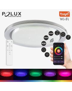 Plafon LED Oprawa Sufitowa UFO 48W 3200lm 49cm RGB+CCT Wi-Fi TUYAsmart + pilot POLUX