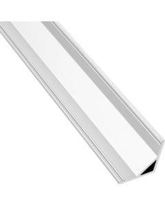 Profil aluminiowy narożny C anodowany KM55 do taśm LED - 1m