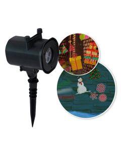Projektor laserowy POLUX TOP-B1 Wzór Świąteczny + ZASILACZ