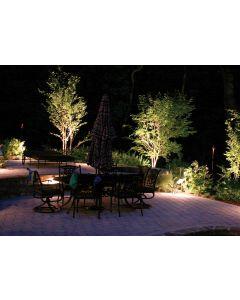 Lampa ogrodowa LED GU10 IP65 SZCZELNA Czarna - przewód 1m