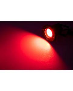 3x Lampa ogrodowa LED GU10 IP65 SZCZELNA Przewód 1m + 3x Żarówka LED GU10 4,5W RGB