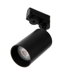 Reflektor Szynowy GU10 CZARNY do Szynoprzewodów + Czarny Pierścień