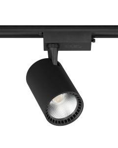 Reflektor szynowy LED czarny 30W 6000K Zimna barwa