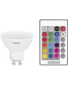 Zestaw Lampa Ogrodowa LED DIEGO IP65 WODOODPORNA + PRZEWÓD + LED GU10 RGB 4,5W
