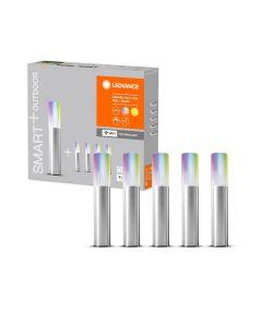 Słupki oświetleniowe LED RGB+W 3,8W SMART+ WiFi Garden 5 POLE Mini LEDVANCE