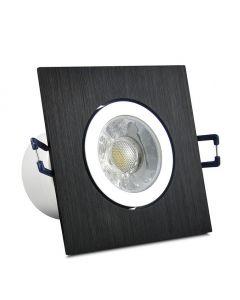 Oprawa podtynkowa ruchoma kwadratowa LED POLUX STAR OLAL 5,5W 470lm 5000K