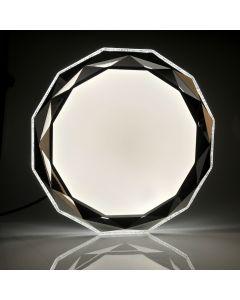 PLAFON LED diament lampa oprawa sufitowa 50cm 3000-6500K z pilotem GLOSSY Polux