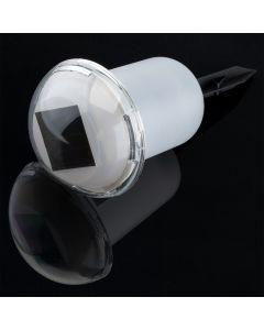 Lampa ogrodowa LED solarna MOMO LED wbijana 2x RGB grzybek Polux
